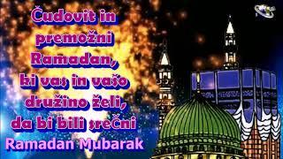 Slovenian Language Ramadan  Mubarak  Ramazan  Mubarak greetings Whatsapp download
