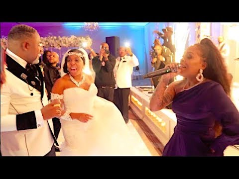 Lil Mo Performs at Jacquees Mom Wedding