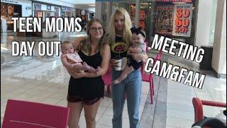 I MET ANOTHER TEEN MOM?! VLOG W CAM&FAM