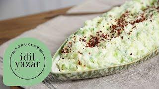 Annem ile Patates Salatası Tarifi | İdil Yazar ile Pratik Yemek Tarifleri