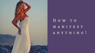 How to Manifest Anything! Powerful Tool! Law of Attraction