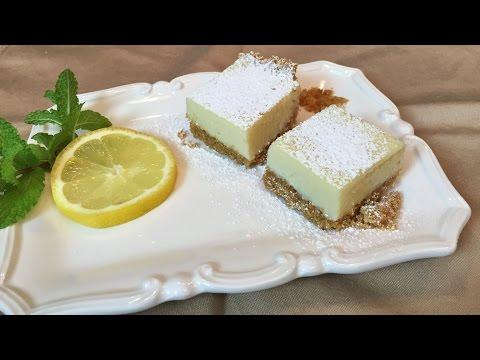 Creamy Lemon Squares - Lynn's Recipes