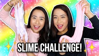 SLIME CHALLENGE! | Caleon Twins