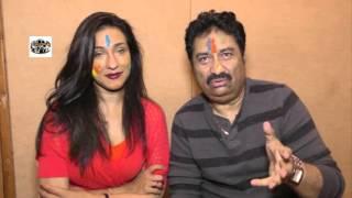 Singer Kumar Sanu & Rituparna Sen Gupta Musical Holi Celebration
