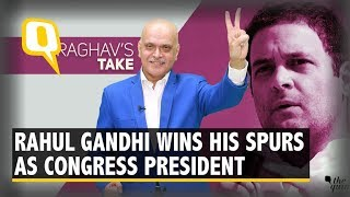 Maturing Into Leader of Substance: 1 Year of Rahul As President  | The Quint