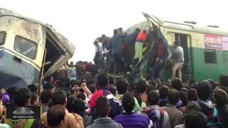 Haryana Train Accident | Full Video Footage | 1 Dead & 100 Injured