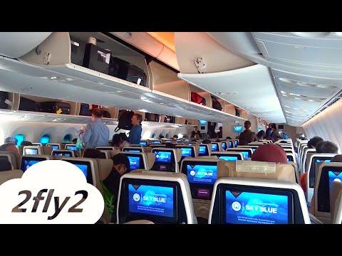 ETIHAD AIRWAYS BOEING 787 9 DREAMLINER ZURICH ABU DHABI ECONOMY CLASS HD