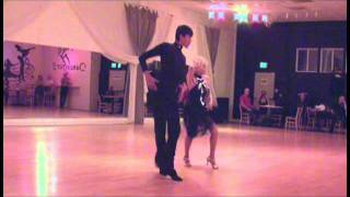14 Year Old William Blanco May & National Latin Dance Champion Mary Manzella Perform Cha Cha Video