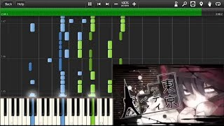 Tokyo Teddy Bear - piano (synthesia)