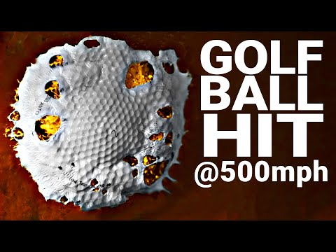 How Hard Can You Hit a Golf Ball at 100 000 FPS Smarter Every Day 216