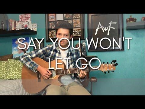 James Arthur - Say You Won't Let Go - Cover (Fingerstyle Guitar)