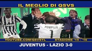 QSVS - I GOL DI JUVENTUS - LAZIO 3-0  TELELOMBARDIA / TOP CALCIO 24