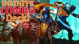 Modern Mindcrank Infinite COMBO Deck + Pack Rat & Training Grounds!