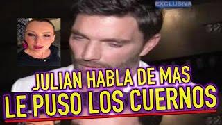 Julián Gil ROMPE EL SILENCIO Marjorie de Sousa LE PUSO LOS CUERNOS