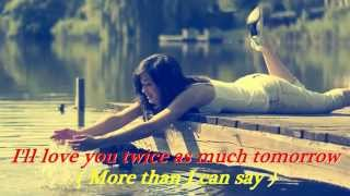 More Than I Can Say - LEO SAYER - Lyrics