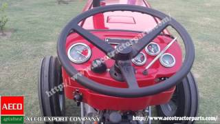 MF tractor models by Aeco Export Company, Pakistan