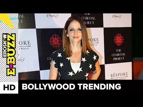 Hrithik Roshan spotted at Sussanne Khan's party! | Bollywood News | ErosNow eBuzz