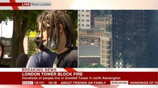 Grenfell Tower Fire Interview - Young man speaks honestly