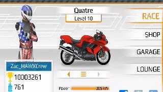 Drag racing bike edition Ninja 1400 1/2 tune