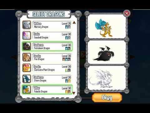 Dragon city combats Robot Paladin Dragon