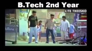 Funny video on Btech life