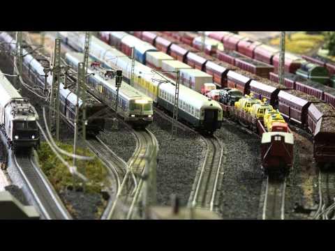 A day with model trains ein Tag mit der Märklin Modelleisenbahn Marklin Modeltrain Layout