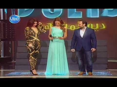 Haifa Wehbe singing MJK in Celebrity Duets