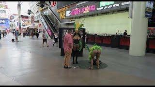 Fremont Street | Tirolesa, Chicas en Tanga y Conejitas PlayboY | Vegas