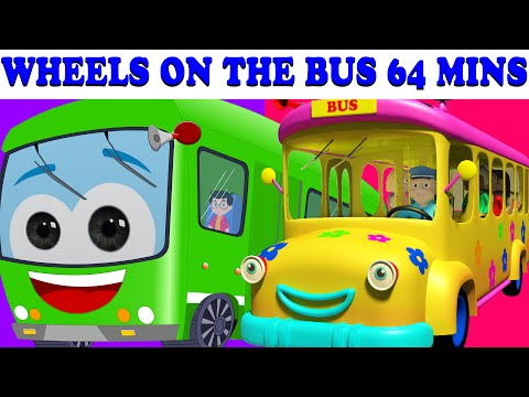 Xxx Mp4 Wheels On The Bus 64 Minutes Compilation Lots More Nursery Rhymes 3gp Sex