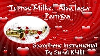 Tumse Milke Aisa laga | Parinda | Saxophone Cover| Instrumental| Suhel Khilji