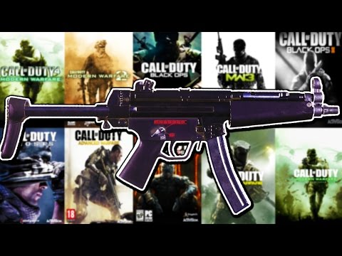 The Evolution of The MP5 in Every Call of Duty