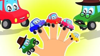 Autos Finger Familie   Kleine rote Auto   Fingere Family Song   Video für Kinder
