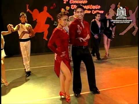 Final del 2do. Concurso de Bailes Latinos Universitarios Primera Parte UASLP