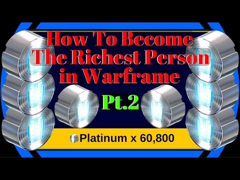 Warframe Platinum Series | Pt2 Greatest Way to Make Platinum