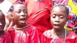 Sango Children chatting Mystical Words