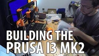 Building the Prusa i3 mk2 3D Printer Kit Timelapse