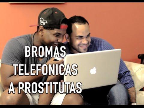 Broma Telefonica a una Prostituta Dominicana: Prank Call - Julio En La Calle