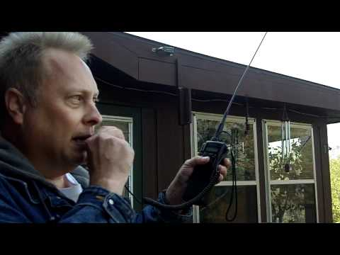 1 288 Mile 10 Meter Hand Held Ham Radio Contact by WD0AKX