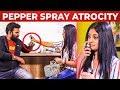 Ratsasan AMMU tries PEPPER SPRAY on VJ Ashiq | Ratsasan Ammu