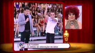 Erros de gravação de Rodrigo Faro em 2013