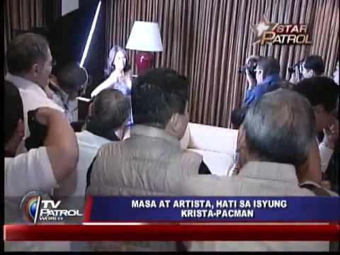 Mocha Uson s BLOG on Manny and Krista ISSUE