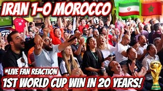 Iran 1-0 Morocco INSANE LIVE REACTION! World Cup 2018