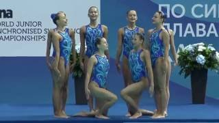 FINA World Junior Synchronised Swimming Championships - Hungarian team