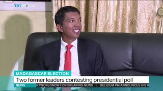 Two former leaders contesting presidential poll in Madagascar