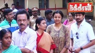 MK STALIN casts his vote with family  | TN Election 2016 !