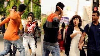 Slapping Prank on Cute Girls 😲😲Prank Gone Wrong -  PrankBuzz | Part- 2 | Prank in Kolkata