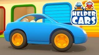 Helper cars 7. Car cartoons & learning videos.