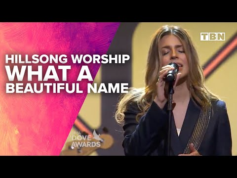 Hillsong Worship Performs What A Beautiful Name 48th Annual GMA Dove Awards TBN