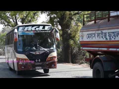 Dangerous Bus Journey in Bangladesh/বিপদজনক বাস ভ্রমণ