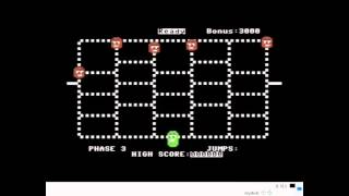 Time Runner (Commodore 64 Emulated) FUNSOFT 1983  RETRO VIDEO GAME